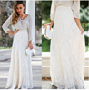 Picture of Long lace skirt