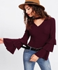 Picture of Choker Neck Layered Sleeve sweater