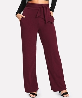 Picture of Self Tie Wide Leg Pants