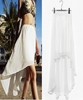 Picture of Floor length chiffon skirt