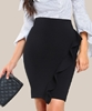 Picture of Cut Out Skirt With Ruffles